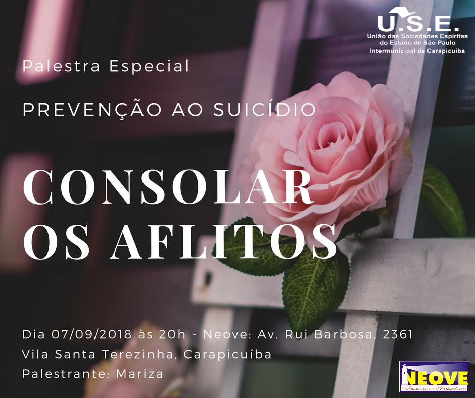 Palestra Suicídio Neove - 07.09.2018
